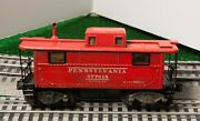 Lionel 2457 Caboose From 1945 With Flying Shoes And Black Fiber Boards