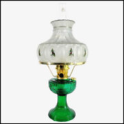 New Aladdin Lamp Lincoln Drape Lamp With Christmas Holly Shade Brass Finish