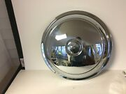 Nos 1938 1939 1940 Cadillac V16 Hubcap Beautiful Chrome 15