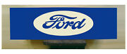 Ford Tractor Sign - Vintage Style - Custom Hand Painted Sign Art