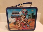 1984 Aladdin He-man And The Masters Of The Universe Metal Lunchbox