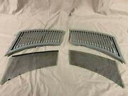 1972-1980 Mercedes Benz 450sl Air Intake Grill Between Hood And Grill