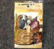 A Switch In Art Decorative Single Bathroom Basket Switchplate New
