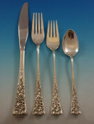 Tapestry By Reed And Barton Sterling Silver Flatware Set Service 39 Pcs Modern