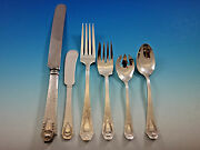 Heraldic By 1847 Rogers Silverplated Flatware Set For 12 Service 79 Pcs Dinner