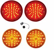 United Pacific Led Tail And Marker Light Set 1955-1957 Chevy Gmc Stepside Truck