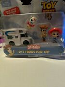 Disney Pixar Toy Story 4 Special Edition Runaway Forky Rv And Friends Road Trip