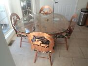 Kitchen Dining Room Custom Steel Copper Eating Table