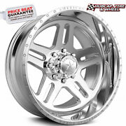 American Force Vision Ck09 Concave Polished 22x14 Truck Wheel 8 Lug Set Of 4