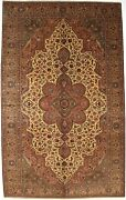 Turkish Handmade Rugs Anatolia Collection Hand-knotted Washable 6and039-4 X 10and039-1