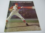 Vintage 1966 Cleveland Indians Mlb Baseball Official Yearbook Sam Mcdowell