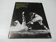 Vintage 1967 Cleveland Indians Mlb Baseball Official Yearbook W/photos