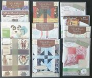 New Anita Goodesign Embroidery Quilting Projects Titles G Thru V .you Choose