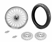 21 X 3.5 80 Spoke Front Wheel 120/70 Bw Tire Package 1984-2007 Harley Touring