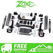 Zone Offroad 6 Suspension System Large Bore For 19 Ram 1500 And Rebel 4wd D73n