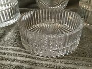 Mikasa Crystal Clear Heavy Glass Bowls Set Of 6
