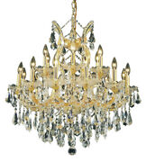 2801 Maria Theresa Collection Chandelier D30in H28in Lt19 Gold Finish Roy...