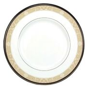 Royal Doulton Abbey Hall Salad Dessert Plate 8 Champagne Band Made In U.k. New