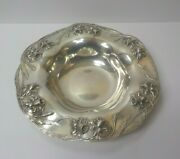 Towle Art Nouveau Sterling Silver 13.25 Centerpiece Bowl Embossed Daffodils