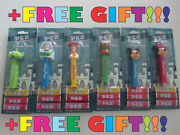 Set Of 6 Pez Disney Parks Exclusive Dispensers Slinky Dog Mickey Mouse Woody