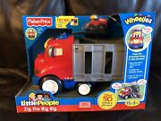 Zig The Big Rig Wheelies Little People Fisher Price 2011 W1461 50 Sounds Phrases