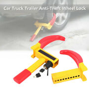 Wheel Lock Clamp Boot Tire Claw Trailer Car Truck Rv Anti-theft Towing Security