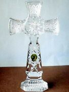 Waterford Kilree Standing Cross Crystal 9.25 141993 New In Box