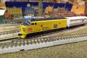 N-scale Custom Painted Ontario Northern F-units A 1520 B 202 Dcc Ready