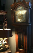 Vintage Daneker Grandfather Clock The President Model Very Good Condition