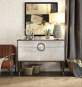 Rosy - Console Table Tgl And Aluminum