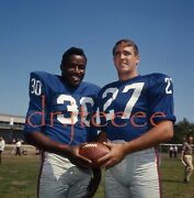 1965 Wheelwright And Thurlow Giants - 120mm Football Negative
