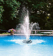 Aqua Select Triple Tier Rock Above Ground And Inground Swimming Pool Fountain