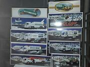 Hess Truck Lot Of 10 No Doubles Lot 2 Incl First Hess Truck