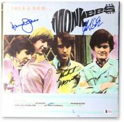 The Monkees Signed Autographed Record Album Davy Jones Dolenz Nesmith Bas A63334