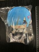 Rezero Starting Life In Another World Rem Plush Doll Prize Gift