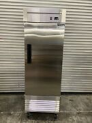 New 1 Door Reach In Freezer Stainless Steel Commercial Nsf Dukers D28f 3701