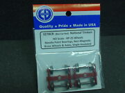 Ho Scale Eb Products 327bcr National Timken Rp-25 Trucks And Wheels Box Car Red