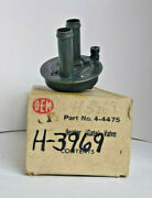 Nos 1962 Chevrolet Heater Valve H3969 4-4475 3155490 Free Domestic Shipping