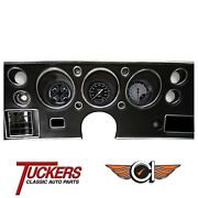 1970 71 72 Chevy Chevelle Ss Auto Cross Gray Gauges Classic Instruments Cv70axg