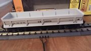 Mth Rail King 30-7934 Conrail Dump Car With Operating Bay With Box Rare O Scale