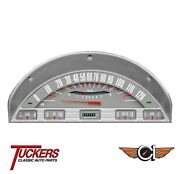 56 1956 Ford F-100 Gray Truck Gauge Set Classic Instruments Ft56gt