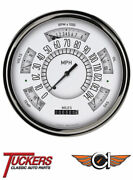 1961-66 Ford F-100 62 63 64 65 White Gauge Package Classic Instruments Ft61w