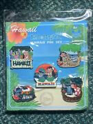 Disney Pins Lilo And Stitch Hawaii From Exclusive Disney Store Pins Set/lot