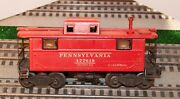 Lionel 2457 Caboose From 1946 With Flying Shoe And Brown Fiber Boards