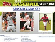 2020 Topps Series 1 Master Team Set Seattle Mariners 26 Cards W Turkey Red