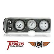 1964-65 Chevy Chevelle Car White Hot Series Gauges Classic Instruments Cv64wh