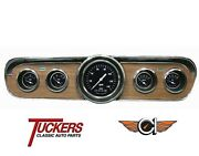 1965-66 Ford Mustang Hot Rod Series Gauge Package Classic Instruments Mu65hr00
