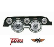 1967-68 Ford Mustang All American Gauge Pkg Classic Instruments Mu67aw