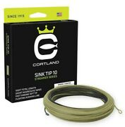 Cortland Streamer Sink Tip 10 Fly Line - All Sizes - Free Fast Shipping