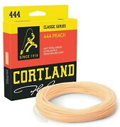 Cortland 444 Peach Double Taper Fly Line - All Sizes - Free Fast Shipping